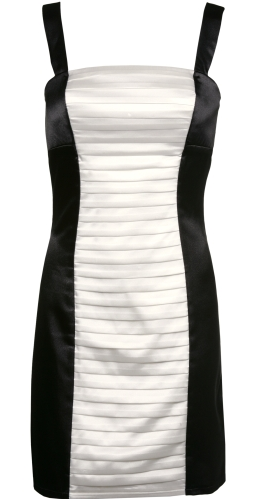 Pleated Colorblock Dress $28.99